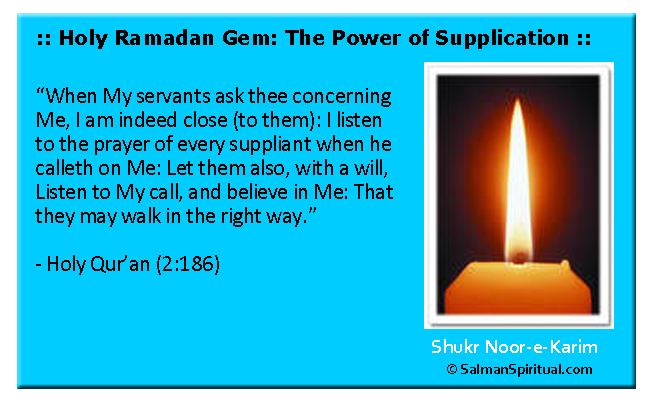Supplication for Our Return Journey