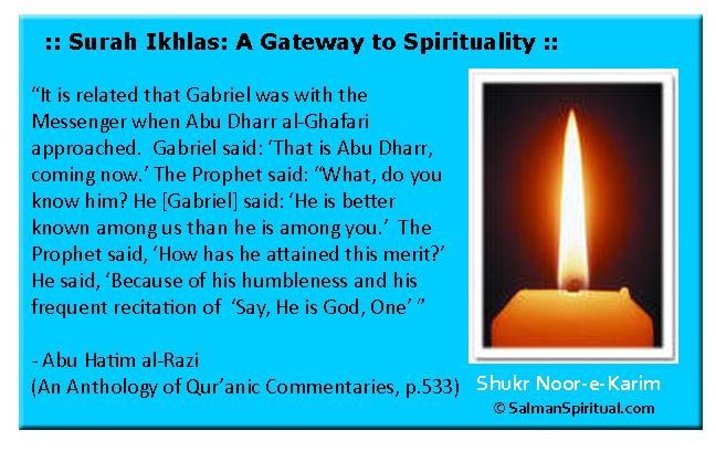 Surah Ikhlas: A Gateway to Spirituality
