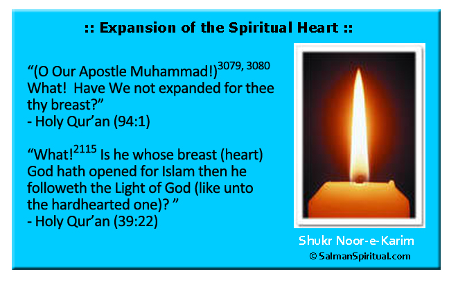 Expansion of the Spiritual Heart